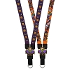 Disney Lanyard - Halloween - Extra Wide Reversible Mickey Pumpkin