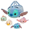 Disney ''Tsum Tsum'' Plush Set - Stitch - Small Bag - Plus 4 Minis
