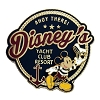 Disney Yacht Club Resort Pin - Mickey Mouse Ahoy There Logo