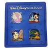 Disney 4 Pin Booster Set - Four Park Icons 2015