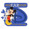 Disney GenEARation D Pin - Mickey Mouse Logo