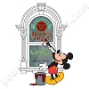 Disney GenEARation D Pin - Main Street Window with Mickey Mouse