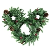 Disney Christmas Decoration - Mickey Icon Light-Up Holiday Wreath