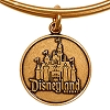 Disney Alex and Ani Charm Bracelet - Disneyland Castle - Gold
