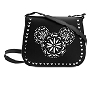 Disney Vera Bradley Bag - Laser Cut Mickey - Crossbody - Black