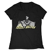 Disney Ladies Shirt - The Haunted Mansion - Hatbox Ghost Tee