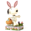Peanuts by Jim Shore Figurine - Easter Bunny Snoopy