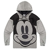 Disney LADIES Hoodie -  Mickey Mouse Face Knit Pullover