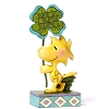 Peanuts by Jim Shore Figurine - Woodstock & Four Leaf Clover