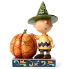 Peanuts by Jim Shore Figurine - Charlie Brown with Pumpkin
