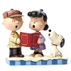 Peanuts by Jim Shore Figurine - Charlie Brown, Lucy & Snoopy