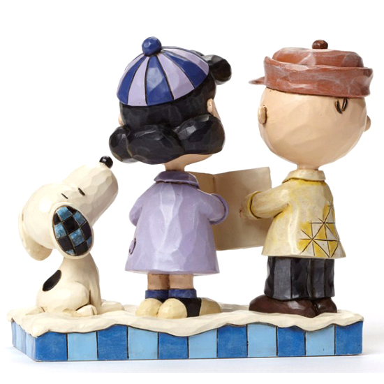 ... Disney Figurine - Peanuts by Jim Shore - Charlie Brown, Lucy & Snoopy