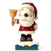 Peanuts by Jim Shore Figurine - Santa Snoopy with Bell
