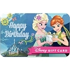 Disney Collectible Gift Card - Frozen Birthday Celebration