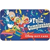 Disney Collectible Gift Card - Feliz Cumpleaños Three Caballeros