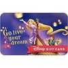 Disney Collectible Gift Card - Tangled - Live Your Dream