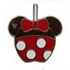 Disney Hidden Mickey Pin - 2015 A Series - Character Apples - Minnie Mouse