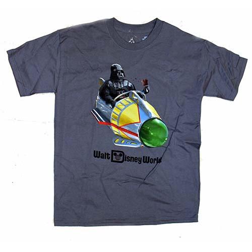 Disney Child Shirt Darth Vader Riding Astro Orbiter