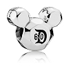 Disney PANDORA Charm - Disneyland 60th Anniversary - Mickey Mouse
