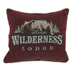 Disney Pillow - Wilderness Lodge Logo