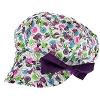 Disney Youth Hat - Newsboy  Cap -  Tinker Bell Print w/Purple Bow