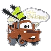 Disney Auto Magnet - Cars Tow Mater - Who Backfired?