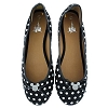 Disney Womens Shoes - Polka Dot Ballet Flat - Mickey Icon