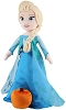 Disney Plush - Porch Greeter - Elsa w/Pumpkin -21 Inches