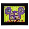 Disney Framed Pin Set - 2015 Mickey's Halloween Party - 6 Pin Set