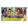 Disney Figurine Set - Tinker Bell and Fairies Doll Set 5''