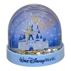 Disney Snow Globe - Tinker Bell and Cinderella Castle