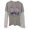 Disney ADULT Shirt - Food & Wine 2015 - Double-Up Long Sleeve