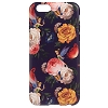 Disney iPhone 6 Case - Tinker Bell with Flowers - Black