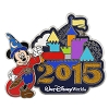 Disney Annual Pin - 2015 Retro Castle - Mickey Mouse