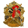 Disney Pirates of the Caribbean Pin - Dead Men Tell No Tales Skeleton