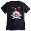 Disney ADULT Shirt - Epcot Food & Wine Festival 20th Anniversary - LR