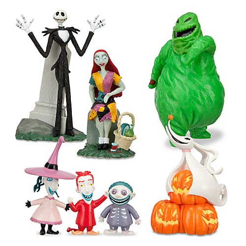 Your WDW Store - Disney Figurine Set - Nightmare Before Christmas