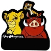 Disney Personalized Name Tag - Lion King Simba Timon Pumbaa
