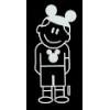 Disney Window Decal - Boy with Mickey Ears