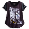 Disney WOMEN'S Shirt - Jack and Sally - Sublimated w/Torn Sleeves