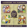Disney Food & Wine Festival Pin - 2015 Passport to Flavors