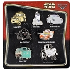Disney 7 Pin Booster Set - Cars Characters as Star Wars Characters