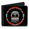 RARE Apparel - Twenty One Pilots Bi-Fold Wallet - Sugar Skull