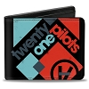 RARE Apparel - Twenty One Pilots Bi-Fold Wallet - Pop Rock Block