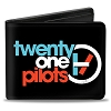 RARE Apparel - Twenty One Pilots Bi-Fold Wallet - Band Logo