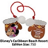 Disney Resort Holidays Pin - 2015 Caribbean Beach Resort - Minnie