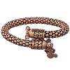 Disney Alex and Ani Charm Bracelet - Metal Wrap Mickey - Rose Gold