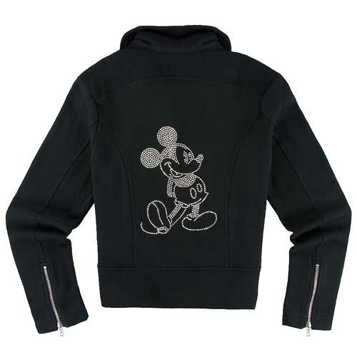 Disney Ladies Biker Jacket Mickey Mouse