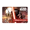 Disney Collectible Gift Card - Star Wars - Light Vs. Dark