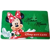 Disney Collectible Gift Card - 2015 Holiday Promo - Minnie Mouse Gift